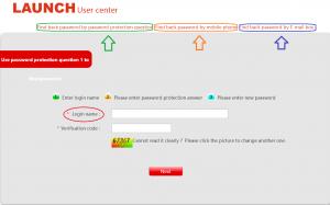 Retrieve Password - Launch Tech Australia